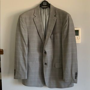 JoS A. Bank gray men's sport coat, size 44R